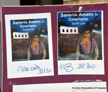 "SAVERIO AMATO IN: ""TRIBUTO A CELENTANO"""